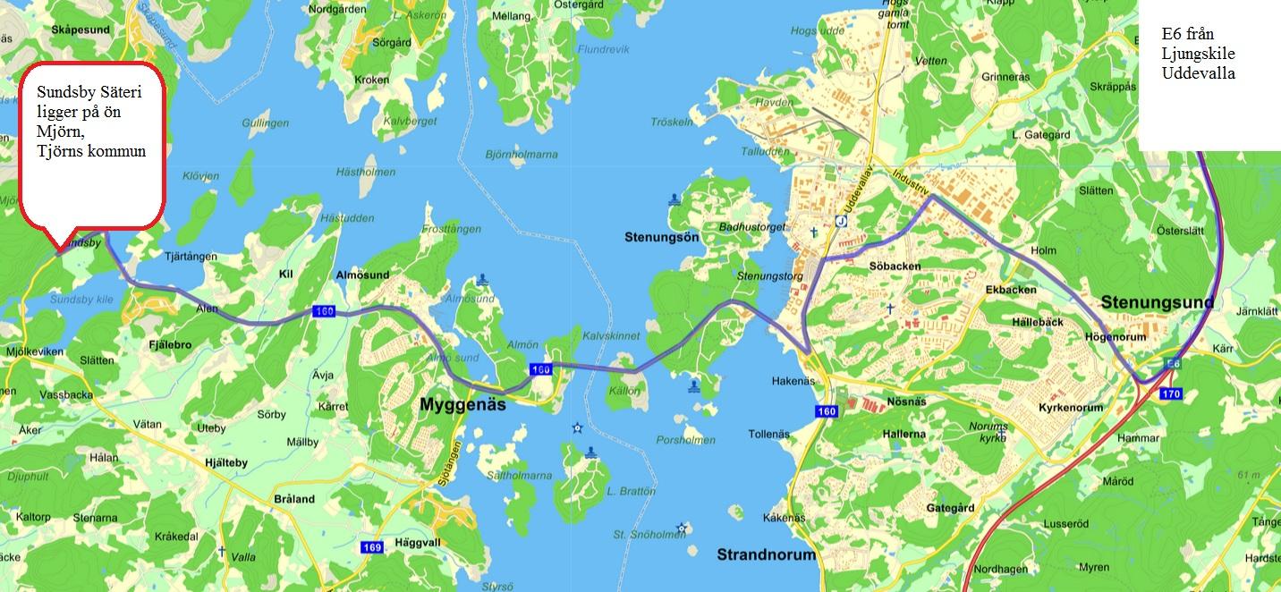 sundsby säteri karta Tibbeträff – 7 September 2014 kl. 13.00 – Sundsby Säteri, Tjörn  sundsby säteri karta